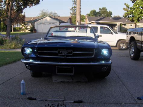 1965 mustang projector headlights w hid kit page 2