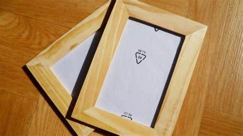 diy comment fabriquer soi m 234 me un cadre en bois bricolage facile