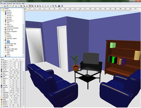 home design software with 3d house interior design software