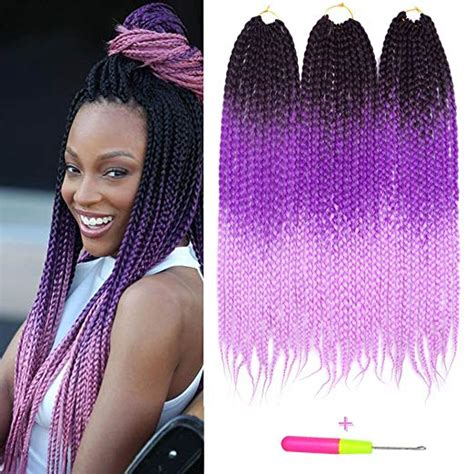 braids with color 14 best crochet box braid styles plus tutorial on