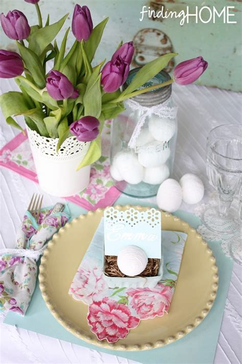 Country Cottage Decorating Ten N Ten Easter Tablescapes