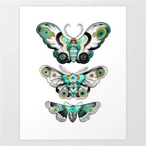 baby moths in bedroom moths art print watercolors traditional and colors