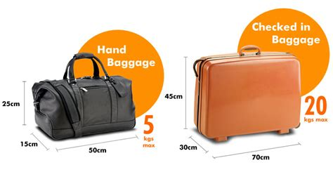 cabin baggage allowance luggage allowance and policy easybus