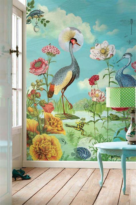 Papier Peint Paysage Mural by Choisir Un Papier Peint De Couloir Original