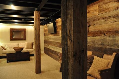 basement reclaimed wood wall   Google Search   For the