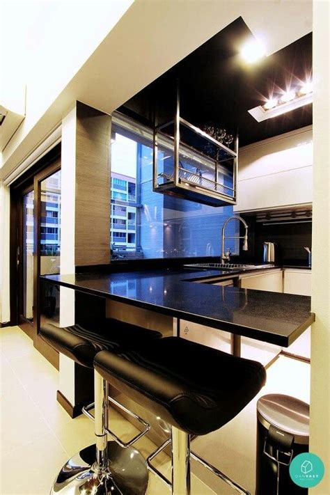 suspended dish rack from ceiling kitchen