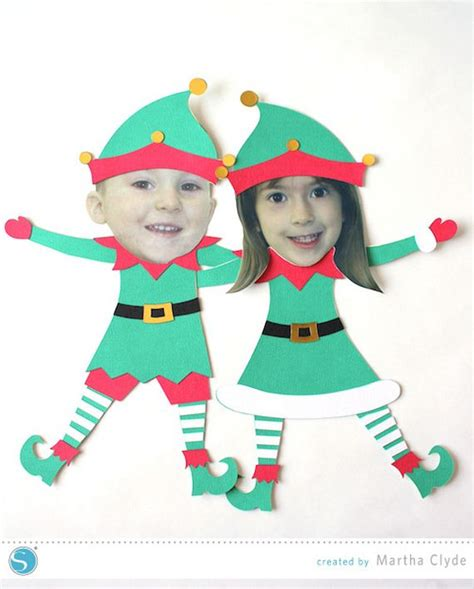 printable elf project awesome elf crafts