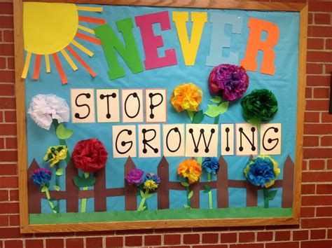 themes for an english day spring bulletin board school bulletin boards pinterest