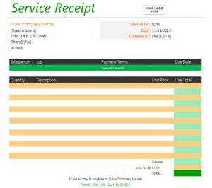 Template Receipt For Services by How To Choose The Right Receipt Template Soft Templates