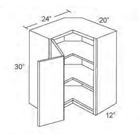 kitchen corner wall cabinet dimensions