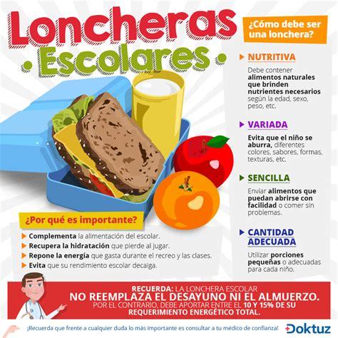 imagenes loncheras escolares alimentos recomendados para la elaboraci 243 n de refrigerios