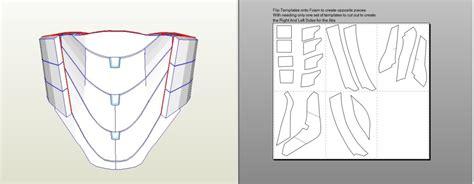 iron man mk vi foam patterns page 5