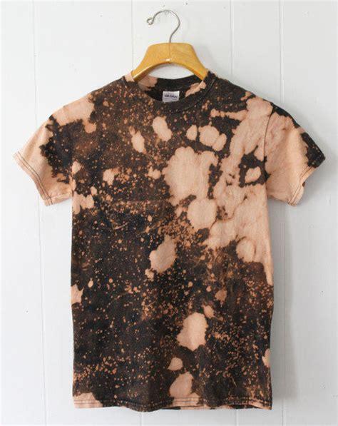 bleach pattern t shirt bleach sprayed and dyed splatter galaxy from prewear on etsy