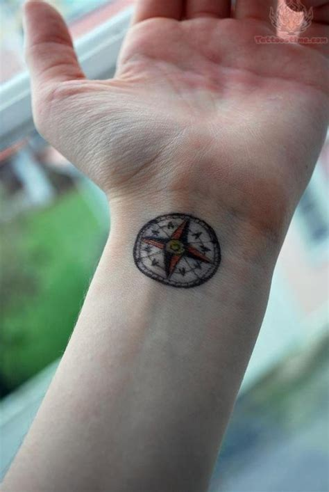 compass tattoos wrist 74 awesome compass wrist designs