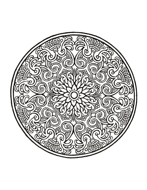 mystical mandala coloring book free mystical mandala coloring book crafty