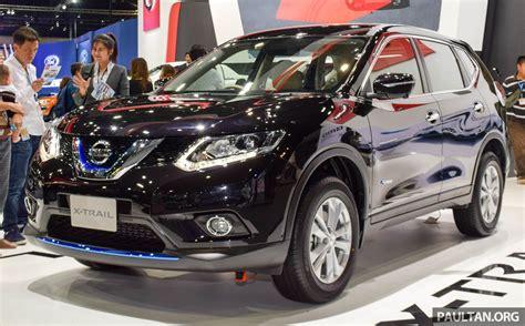 nissan thailand nissan x trail hybrid on show at 2015 thai motor expo