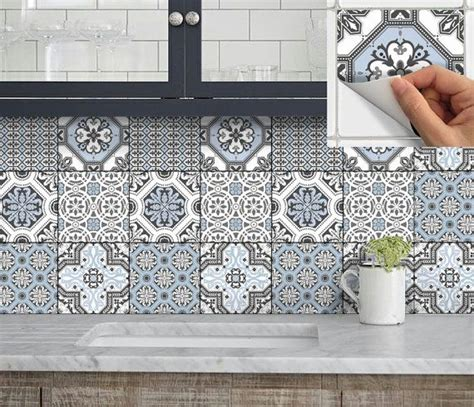 kitchen backsplash tile stickers 25 best ideas about stick on tiles on wood planks for walls kitchen walls and