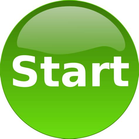 Art Startup | another green start button clip art at clker com vector