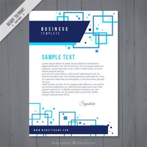 Business Letterhead Vector Free Abstract Business Letterhead Vector Free