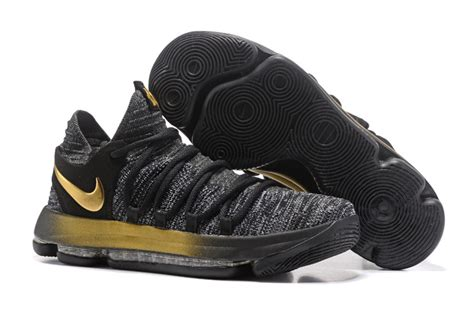 youth kevin durant basketball shoes nike zoom kd 10 ep oreo gold 897816 001 kevin