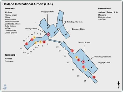 san jose airport terminal map southwest airlines information early bird airport shuttle