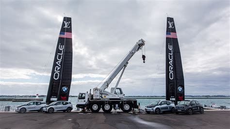 bmw s ties with oracle team usa in the america s cup run