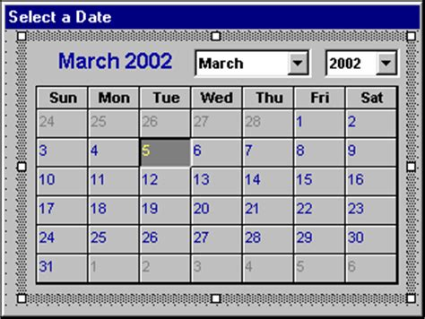 how to make a calendar popup in excel vba tips a pop up calendar for excel