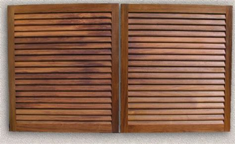 Louvered Kitchen Cabinet Doors by Custom Louvered Cabinet Doors Beautiful Kitchen Designs