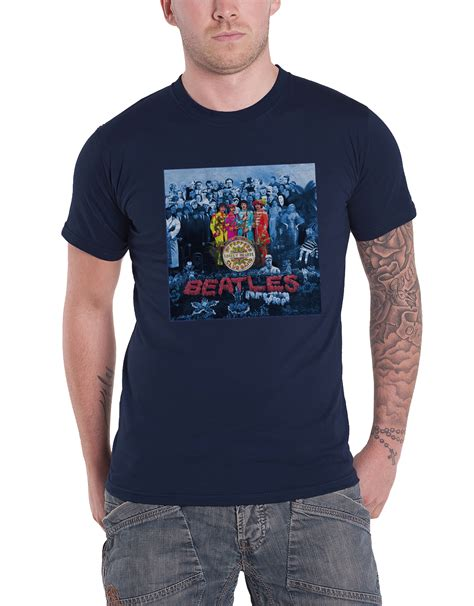 T Shirt The Beatles New the beatles t shirt sgt pepper 50 years album cover band