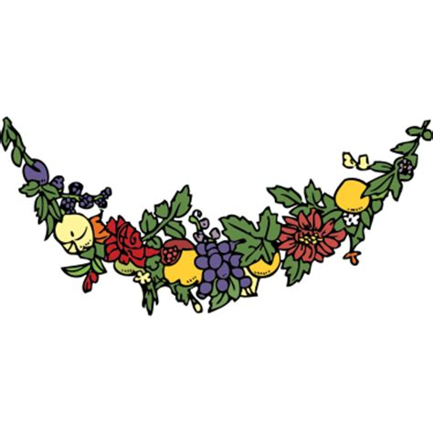 suspended decorative chain of ribbons and flowers free on line english dictionary thesaurus children s
