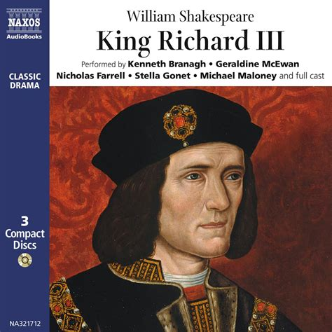 king richard iii king richard iii unabridged naxos audiobooks