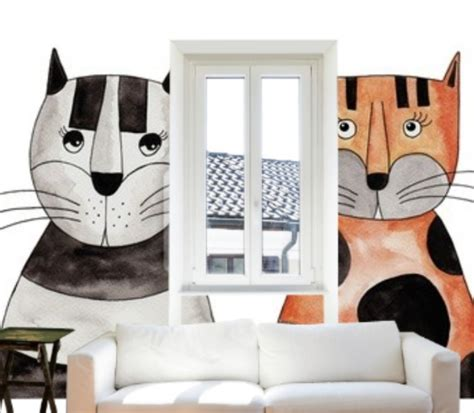 cat wall murals my colsie the cat lover cool cat wall murals new nostalgia
