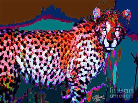 colorful cheetah print the gallery for gt cheetah painting
