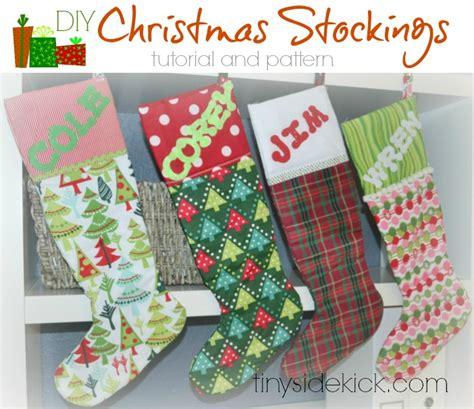diy christmas stockings christmas fabric handmade