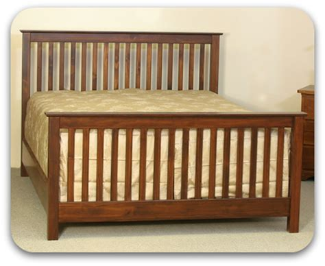 Vancouver Bed Frame W Floating Foot Bedroom Furniture Forty Winks Polo Wooden Bed Frame