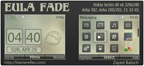 hd themes for nokia asha 302 eula fade themereflex