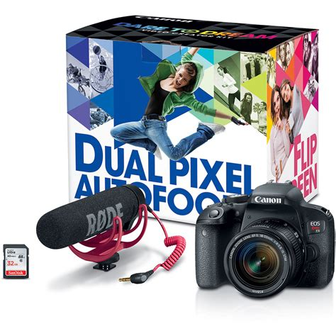 Kamera Canon Dslr 18 55mm canon eos rebel t7i dslr with 18 55mm lens