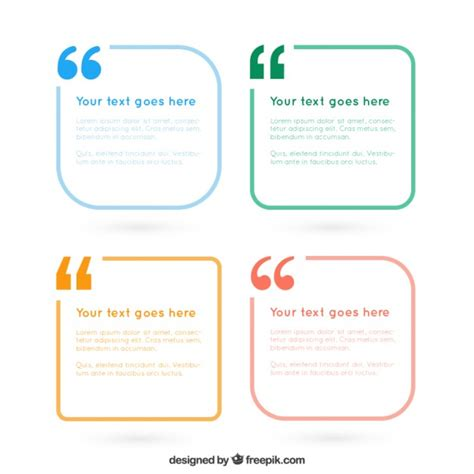 text box design frame vector simple text frames pack vector free download