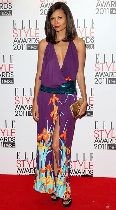 Catwalk To Carpet Thandie Newton by V Neck Dresses Including Dvf Avram Hooded Dress