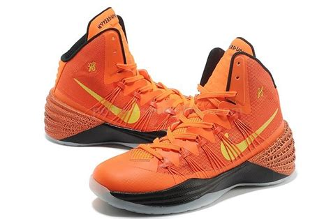 black and orange nike basketball shoes buy nike hyperdunk 2013 new xdr orange black yellow mens