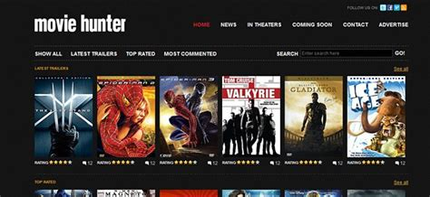 film online website free website css template for movies and entertainment