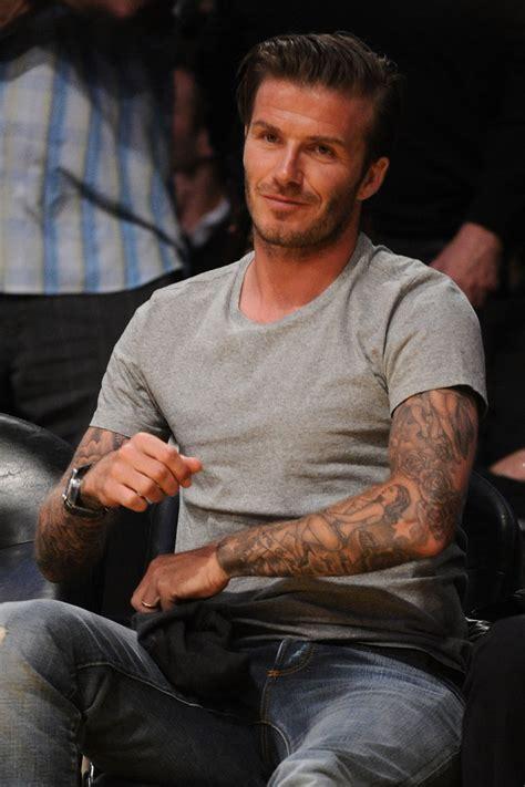 David Beckham Gets A New by David Beckham Photos Photos New Orleans Hornets V Los
