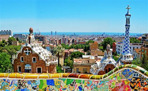 A In Barcelona traveling to barcelona in the of thursday s terror
