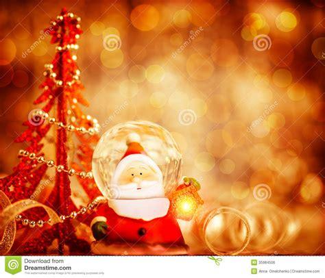 cute santa border royalty  stock image image
