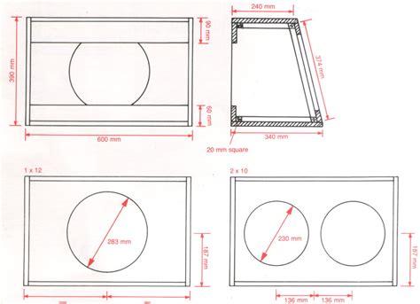 2x10 guitar cabinet plans speaker designs