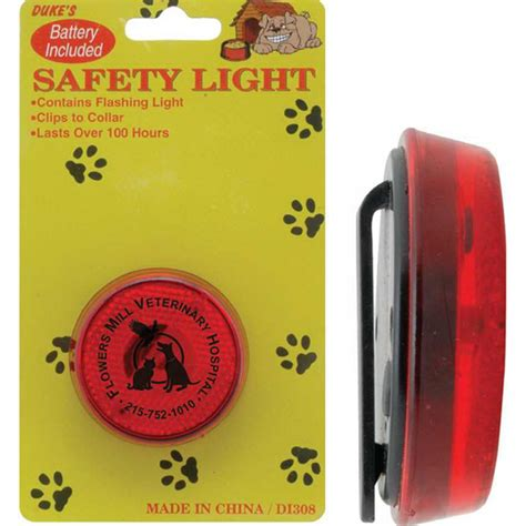 collar safety light customized pet collar safety light usimprints