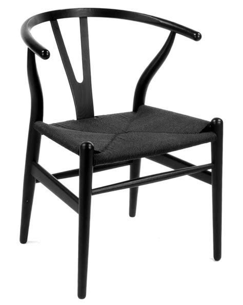 wishbone dining chair black wishbone chair ch24 by hans wegner wishbone dining chair