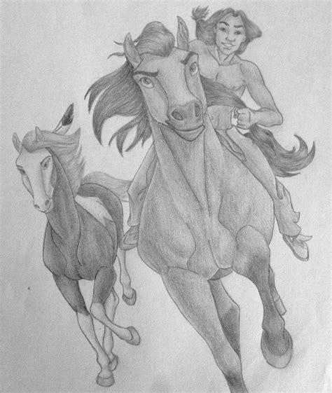 spirit 2 stallion of the cimarron drawings spirit the stallion of the cimarron by disneymonica on