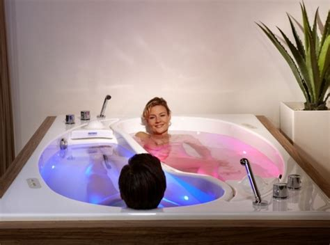 bathtub for couples a particularly profound experience with ying yang couples