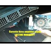 How To Chevy Corvette Bose Front Speaker Speakers Removal